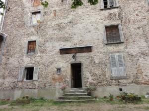 Façade du bâti du prieuré