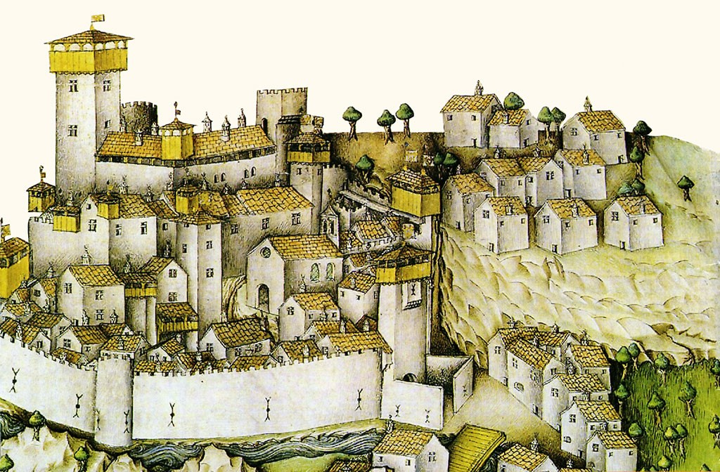Donzy au Moyen-Âge