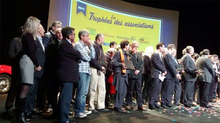 Le 4 décembre 2014 : Remise des trophées aux associations