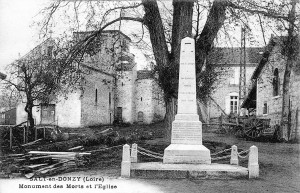Monument au Morts et Eglise (1925)