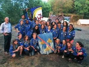 Les Scouts à Donzy du 9 au 23 juillet 2015