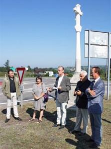 Inauguration de la nouvelle Croix du Pavillon