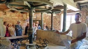Voyage dans le Jura: les turbines du Moulin.