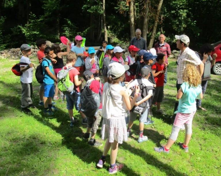 Des écoliers de Villechenève découvrent Donzy