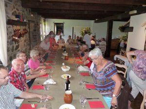 Au Pré Bossu, notre table