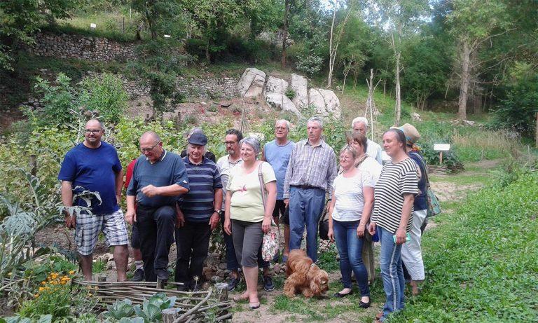 """Visite de l'association """"Terres agricoles partagées"""""""