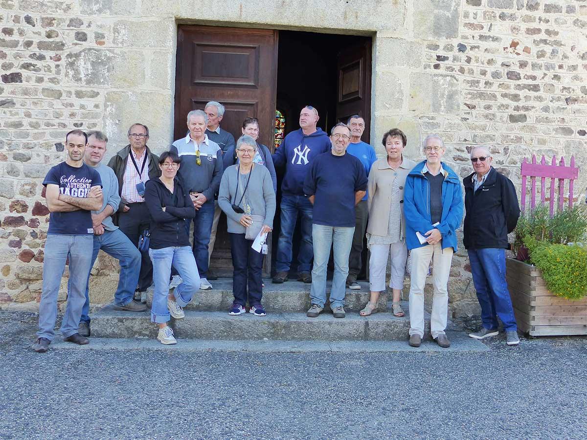 Les habitants du Pilat visitent Salt et Donzy