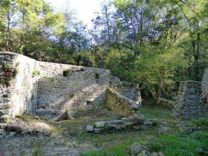 Visite des gens du Pilat, le moulin