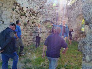 Visite des gens du Pilat, la chapelle