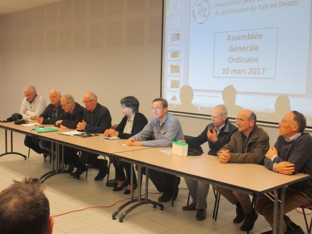 Assemblé Générale du 10 mars 2017 (photo)