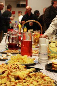 Les 20 ans du Patrimoine de Salt: le buffet