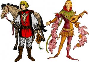 Chevalier et troubadour
