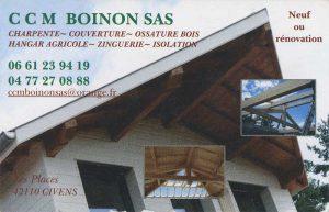 Nos partenaires: Boinon