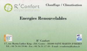 Nos partenaires: R' Confort