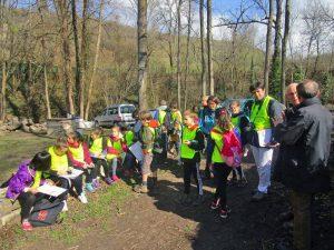 10 mars 2017 - Visite de l'école d'Essertines (1)