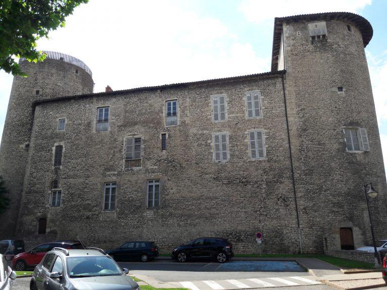 Visite de Anse : chateau des Tours