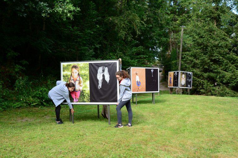 expo Porte filles