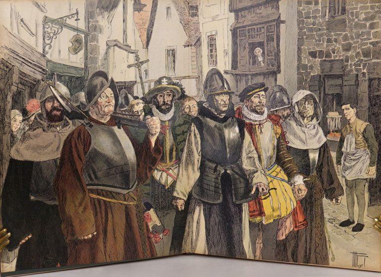 Le capitaine La Violette à Donzy en 1598
