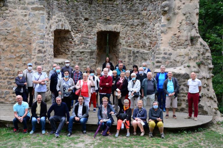 Visite des amis du musée de Bussières