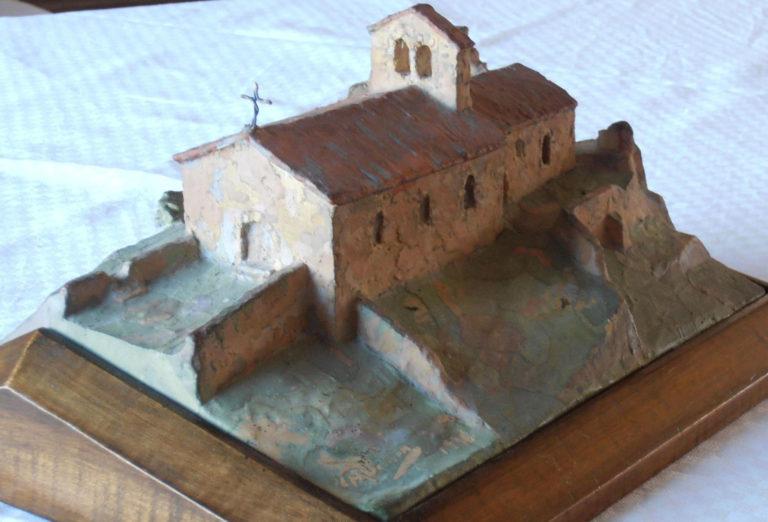 Chapelle St Alban maquette