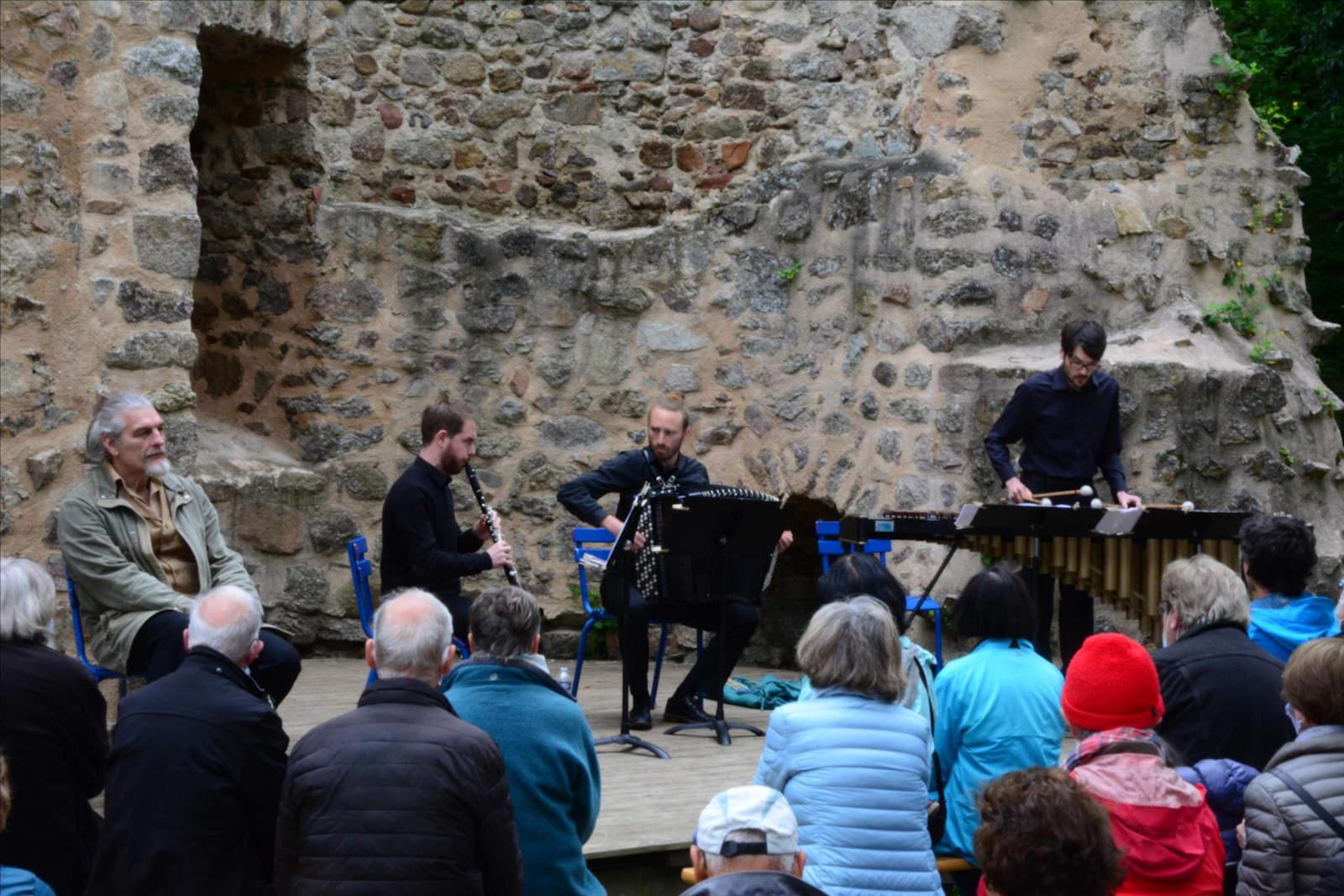 Roman concert à Donzy