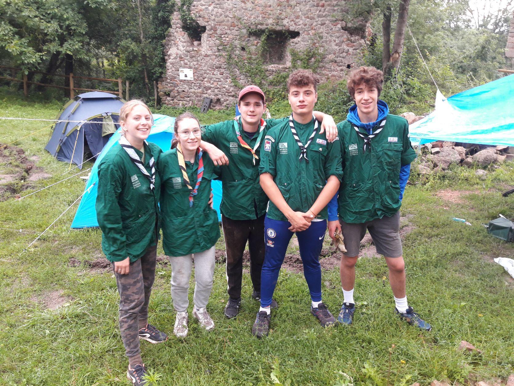 Groupe de scouts 2021