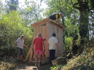 Les toilettes sèches: du projet à la réalisation