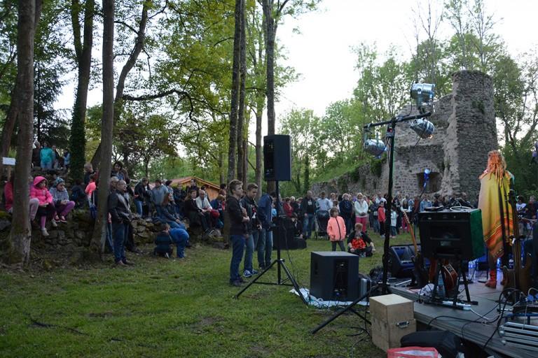 Concert rock du 20 mai sur le site de Donzy