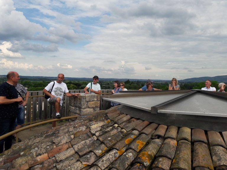 Visite de Anse : haut de la Tour
