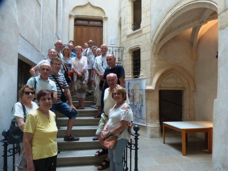Visite de Anse (Rhône)