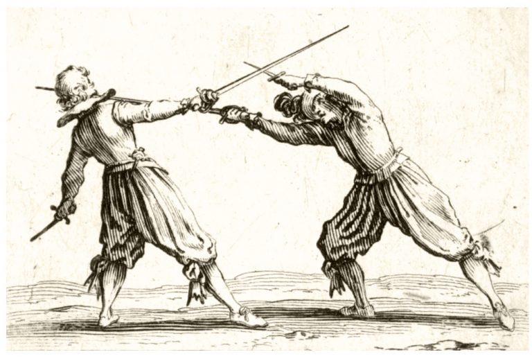 Le duel de La Croisette en août 1656