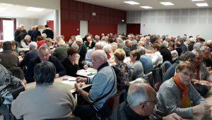 Le 1er concours de belote de l'Association