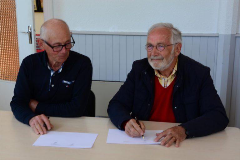 Read more about the article Signature d'une Convention avec la Fondation du Patrimoine